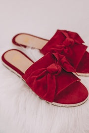 Poppy Red Sandal
