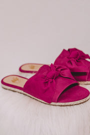 Poppy Hot Pink Sandal