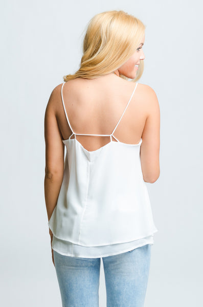 Cream Emma Top