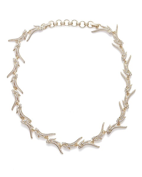 Kendra Scott Cleo Collar Necklace In Gold