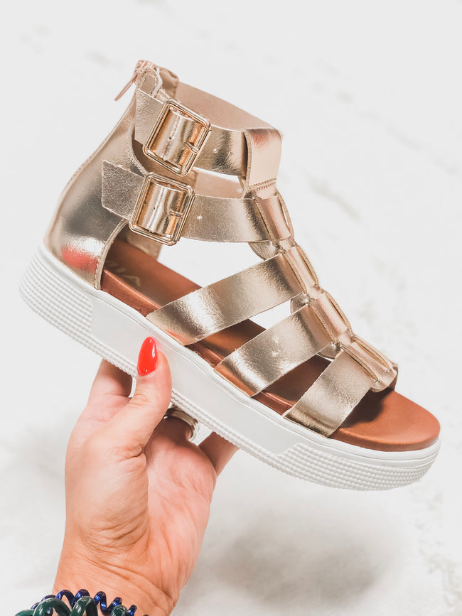 Ophelia Rose Gold Sandal