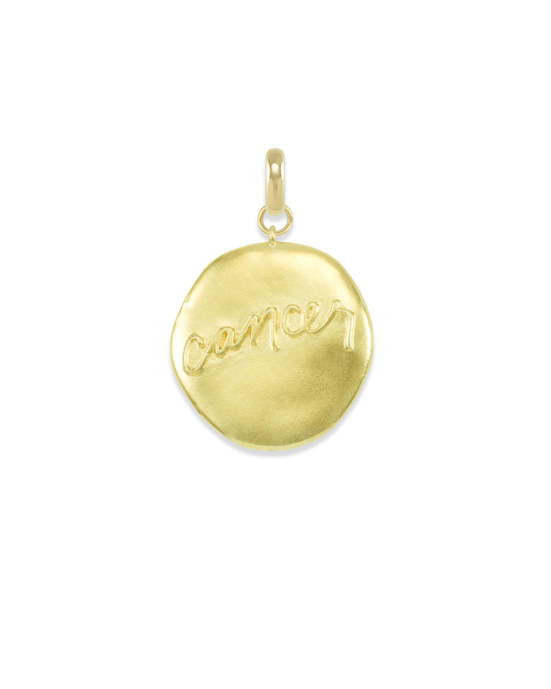 Kendra Scott Cancer Gold Coin Necklace- FINAL SALE