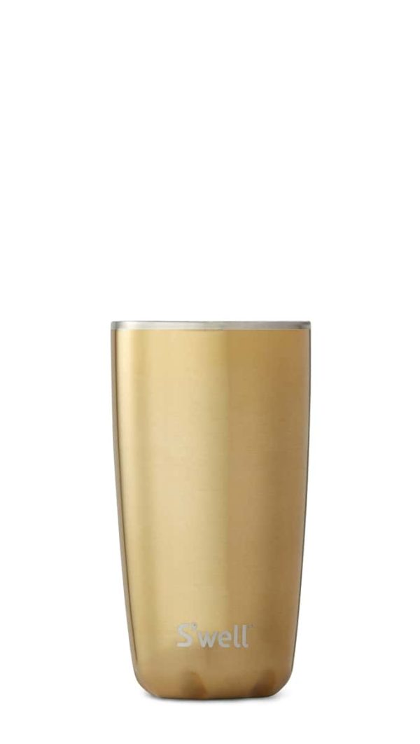 S'well Bottle - 18oz Yellow Gold Tumbler