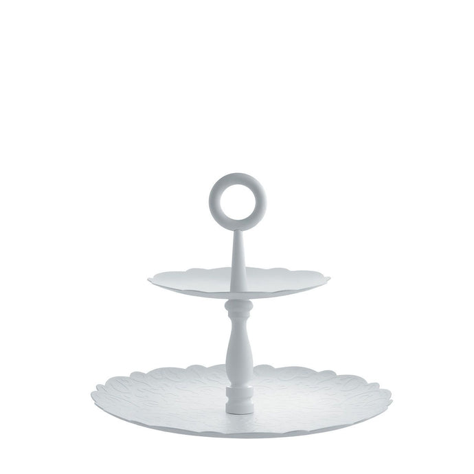 Dressed Xmas Two-dish Stand