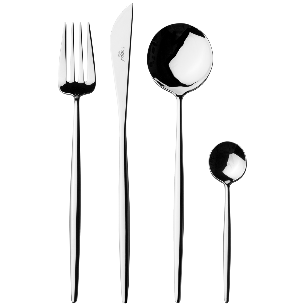 Moon Silver Flatware Set (75 Pieces)
