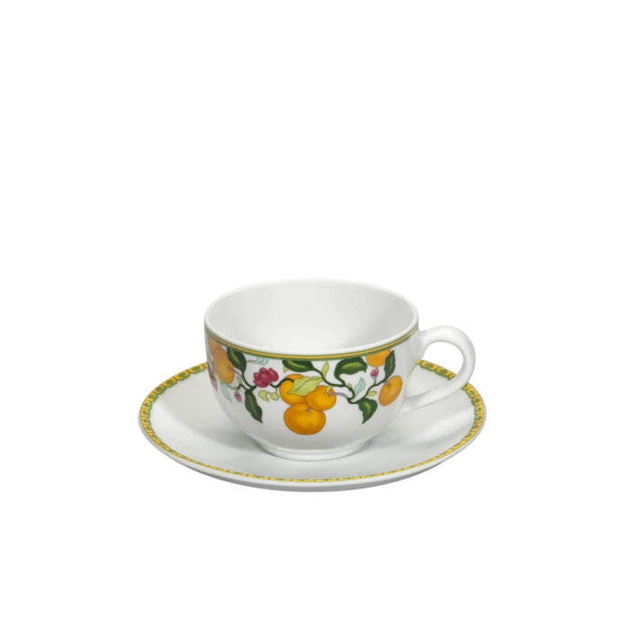 Algarve Teacup & Saucer, Set of 4