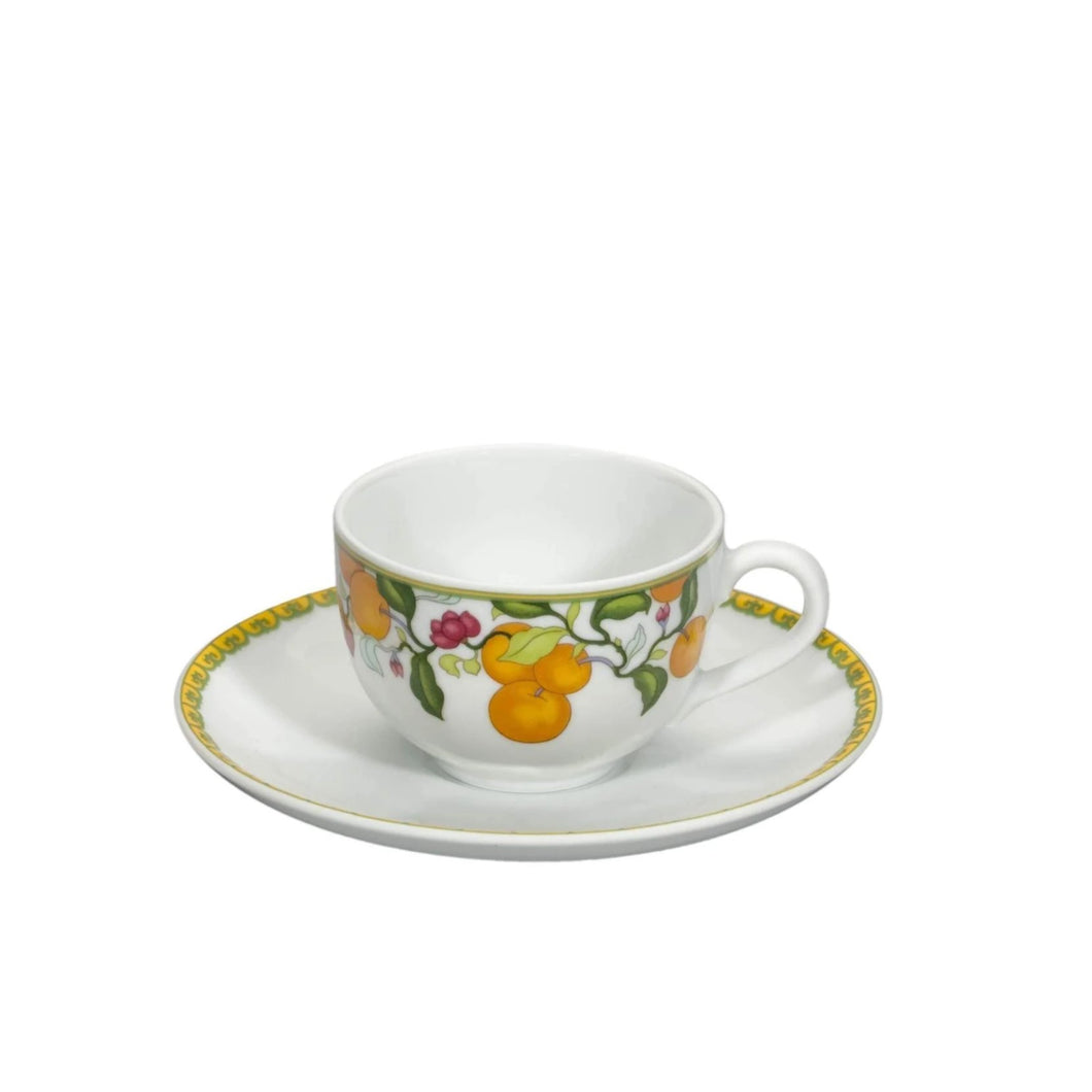 Algarve Coffee Cup & Saucer, Set of 4