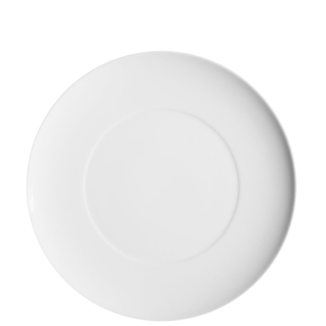 Domo White Dinner Plate, Set of 4