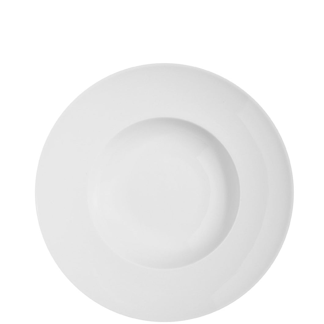Domo White Pasta Plate, Set of 4