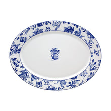 Load image into Gallery viewer, Chintz Azul Oval Platter