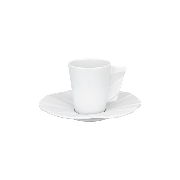Matrix Coffe Cup & Saucer, Set of 4