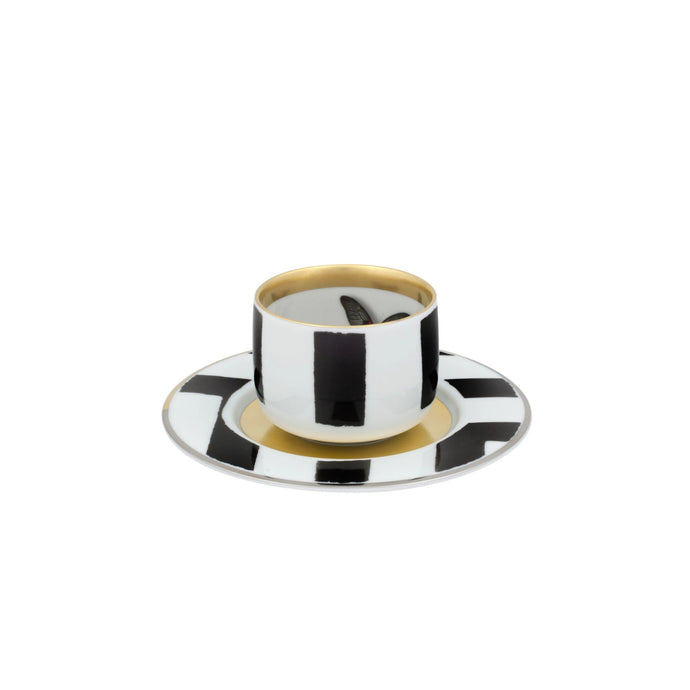 Sol y Sombra by Christian Lacroix Coffee Cup & Saucer