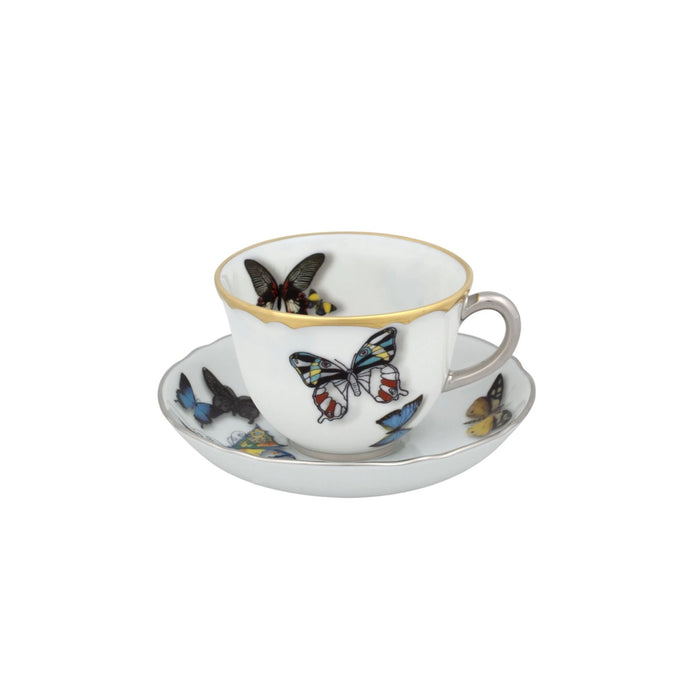 Butterfly Parade by Christian Lacroix Coffee Cup & Saucer