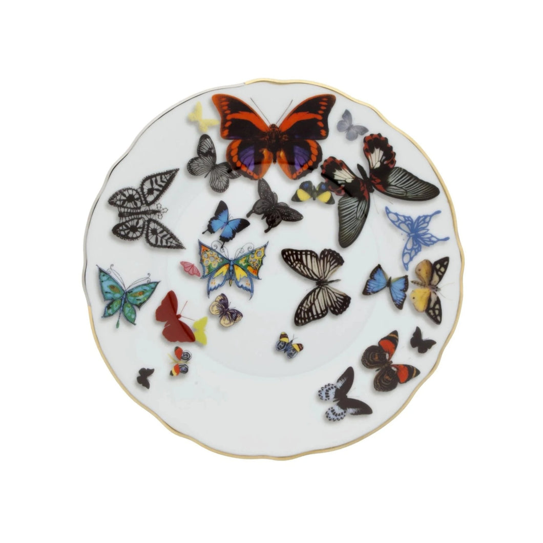 Butterfly Parade by Christian Lacroix Bread & Butter Plate, Set of 2