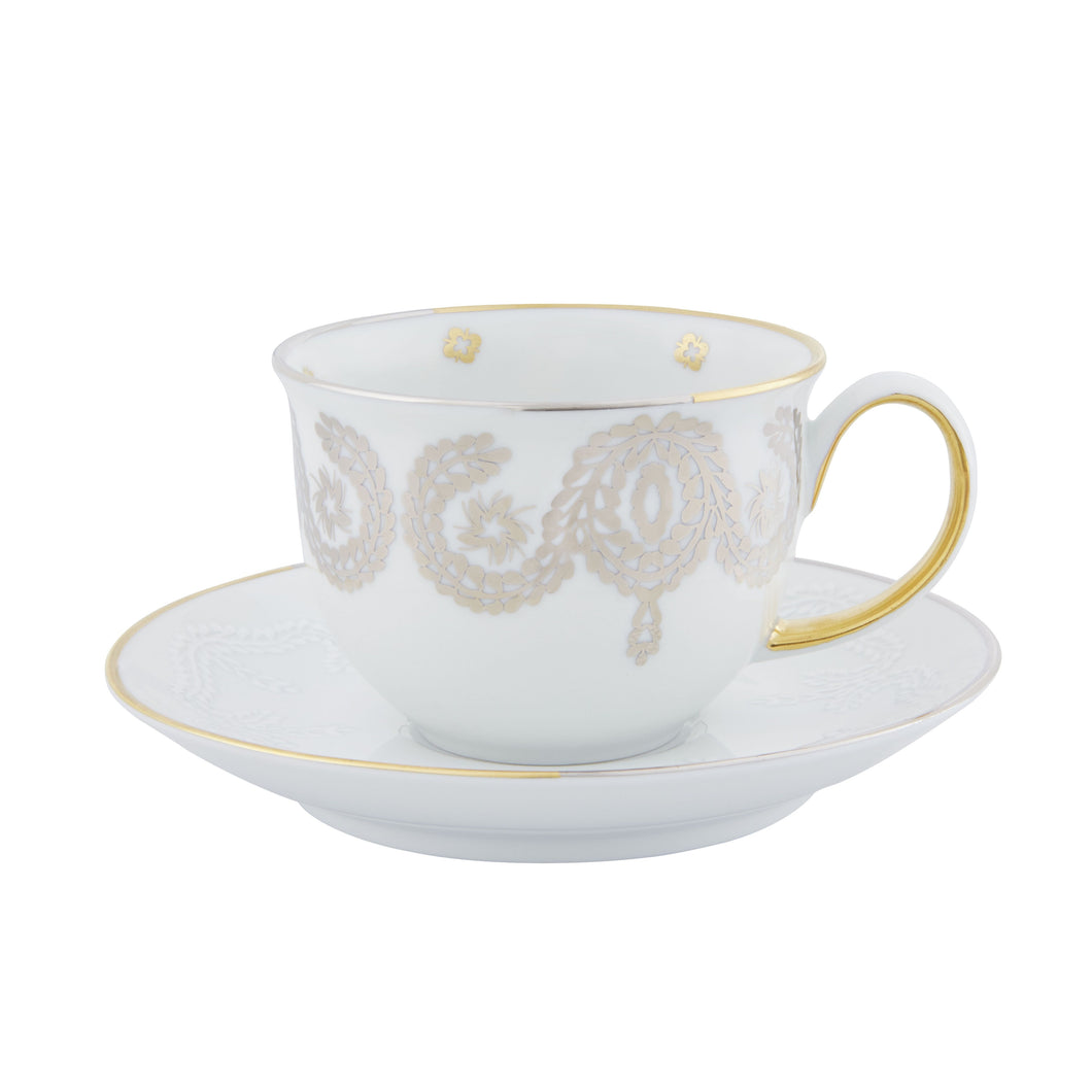 Paseo by Christian Lacroix Coffee Cup & Saucer, Set of 2