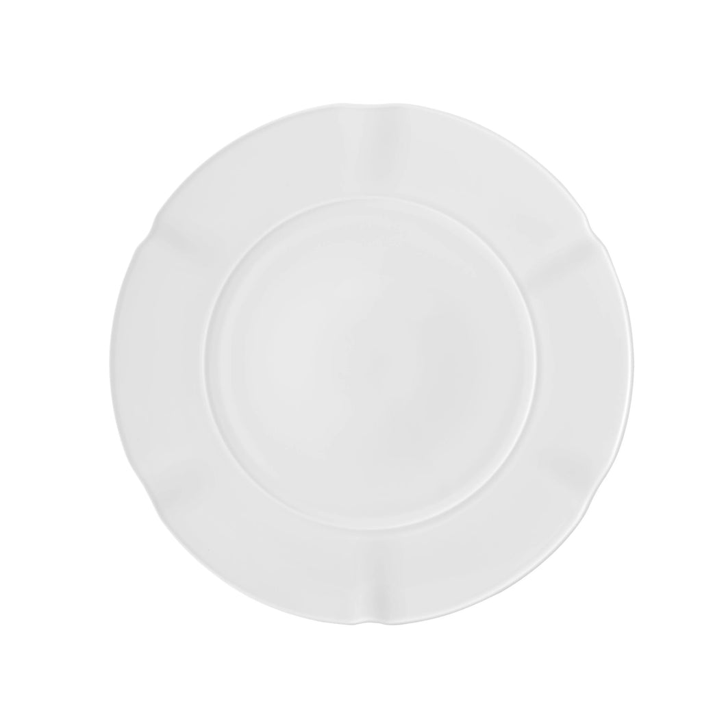 Crown White Dinner Plate, Set of 4
