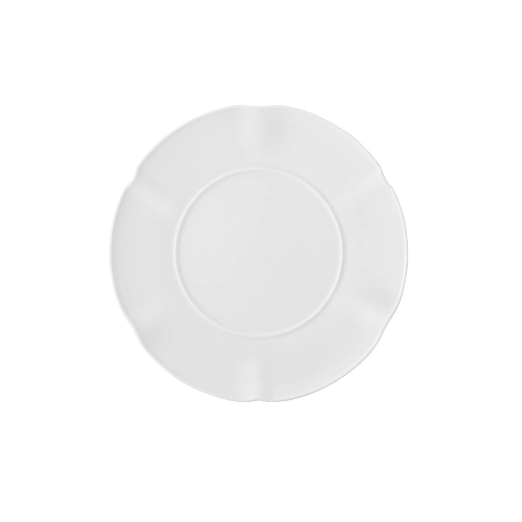 Crown White Bread & Butter Plate, Set of 4