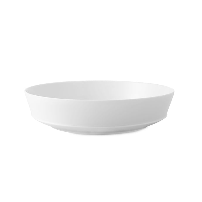 Crown White Salad Bowl