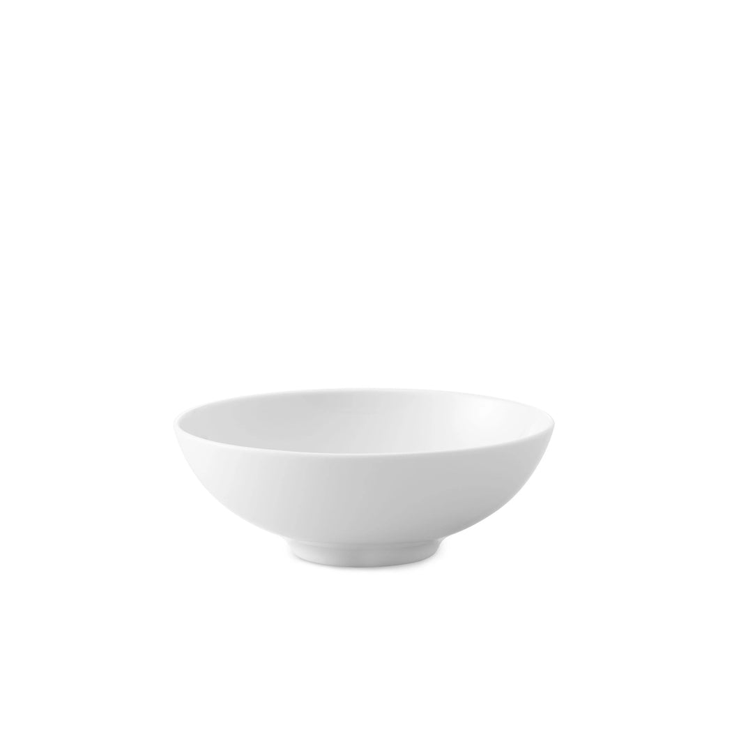 Crown White Dessert Bowl, Set of 4