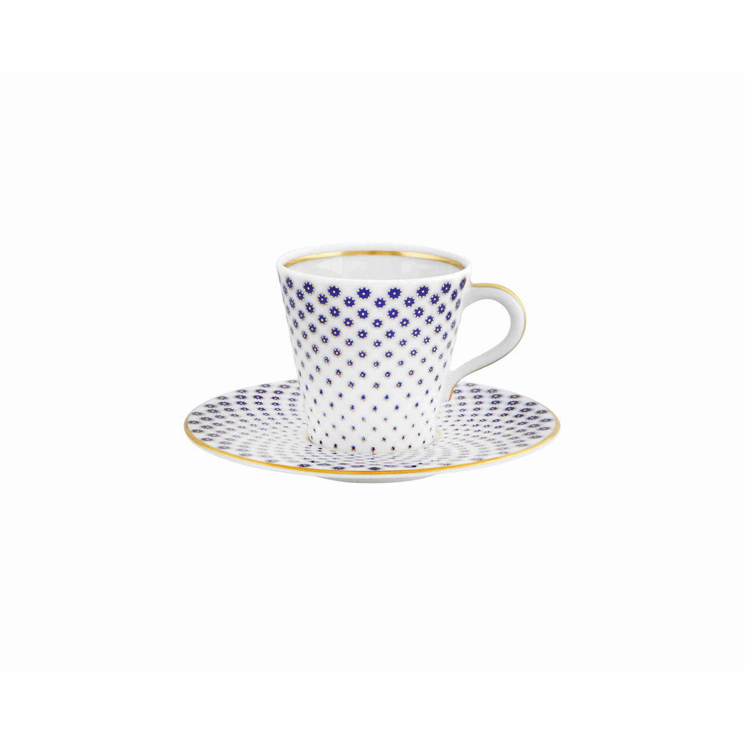Constellation d'Or Coffee Cup & Saucer