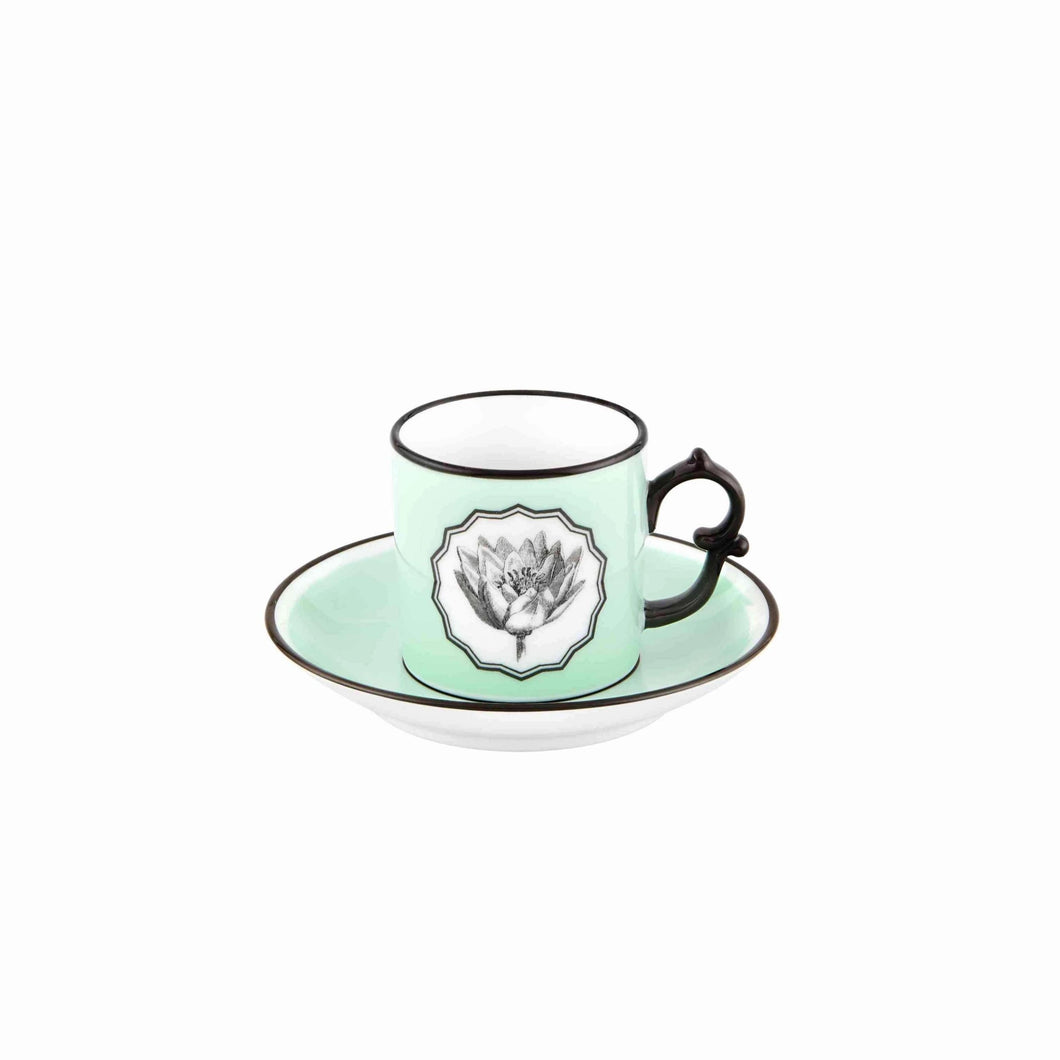 Herbariae by Christian Lacroix Coffee Cup & Saucer, Set of 2