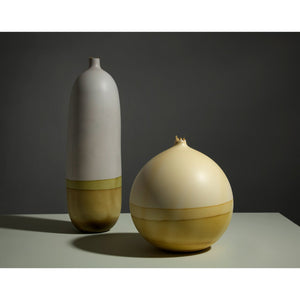 Venus Grey and Olive Vessel