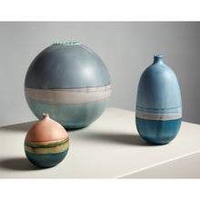 Load image into Gallery viewer, Pluto Peach and Prussian Vessel