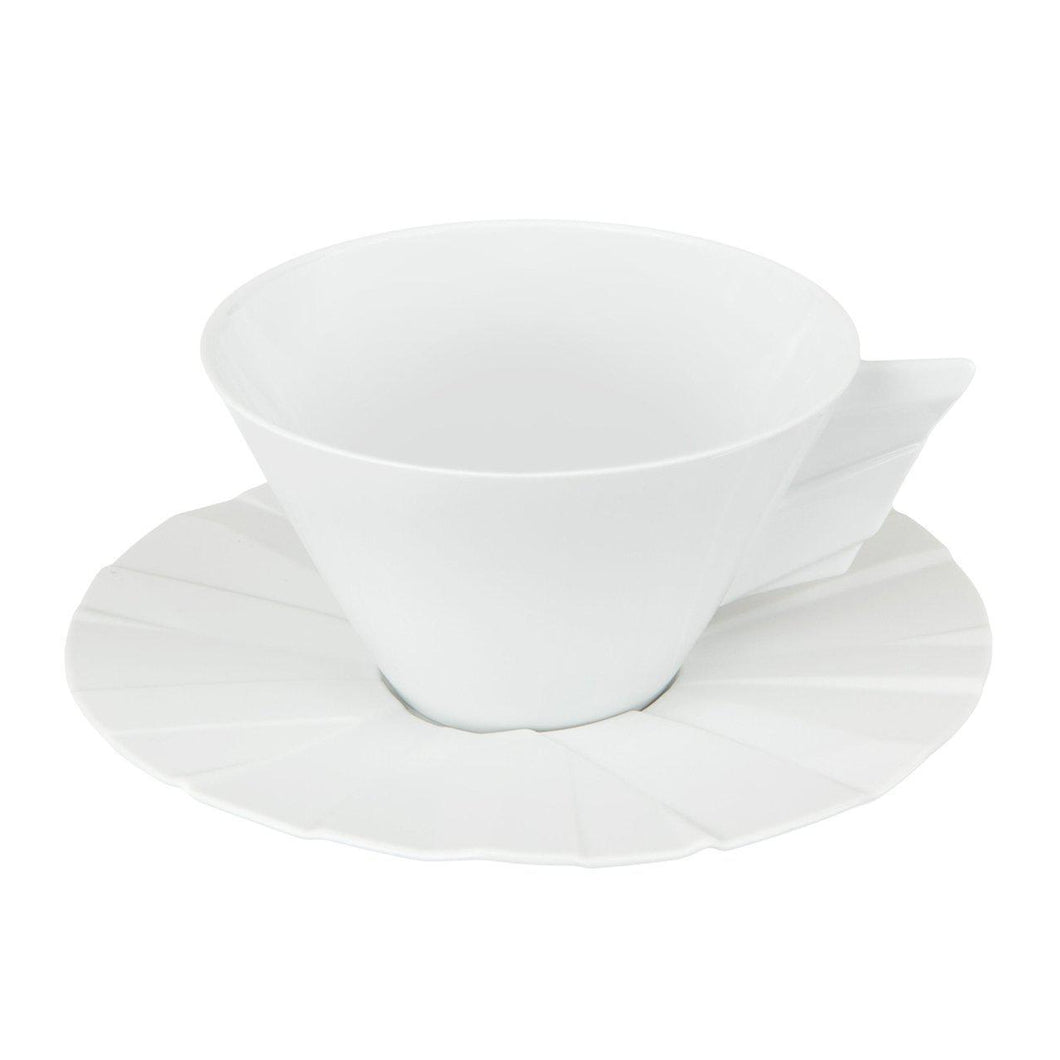 Matrix Tea Cup & Saucer
