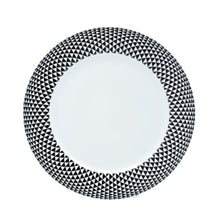 Load image into Gallery viewer, Black Diamonds Dessert Plate