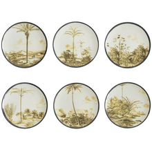Load image into Gallery viewer, Las Palmas Dessert Plate 1, Set of 6
