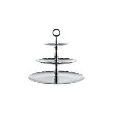 Load image into Gallery viewer, Dressed Xmas Three-dish Stand
