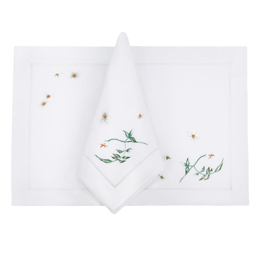 Night Jasmine Linens, Set of 4