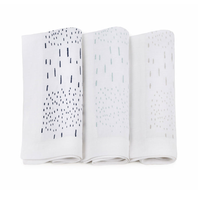 Rain Napkins, Set of 3