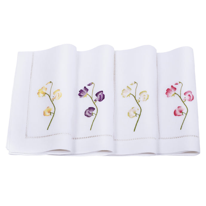 Sweet Pea Linens, Set of 4