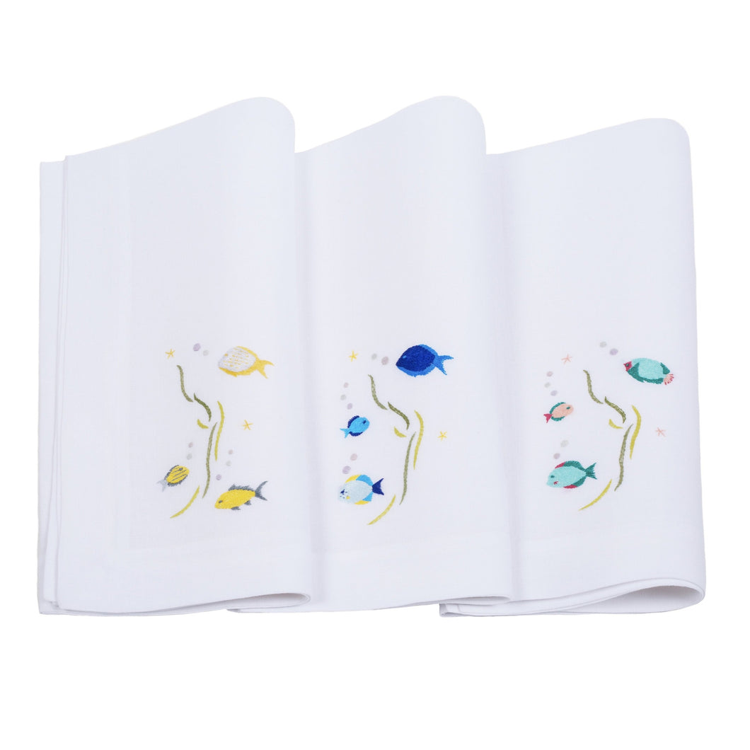 Under the Sea Napkins, Set of 3