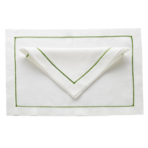 Whitework #9 Color Linens, Set of 4