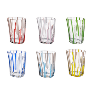 Bora Glass, Set of 6