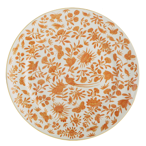 Sacred Bird &  Butterfly Dinner Plate