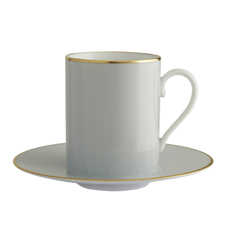 Lexington Gris Tall Cup & Saucer
