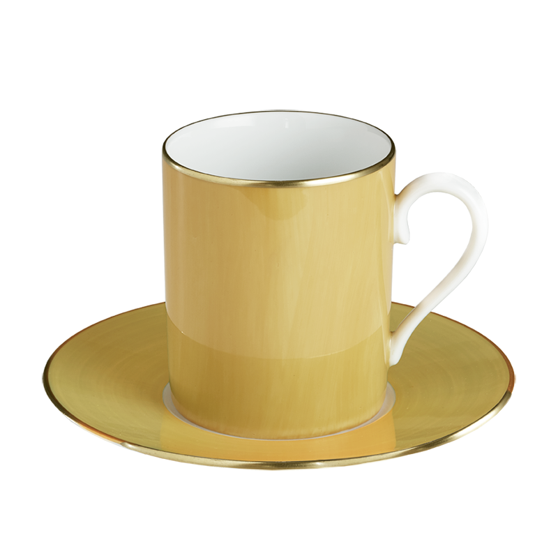 Lexington Pale Yellow Tall Cup & Saucer