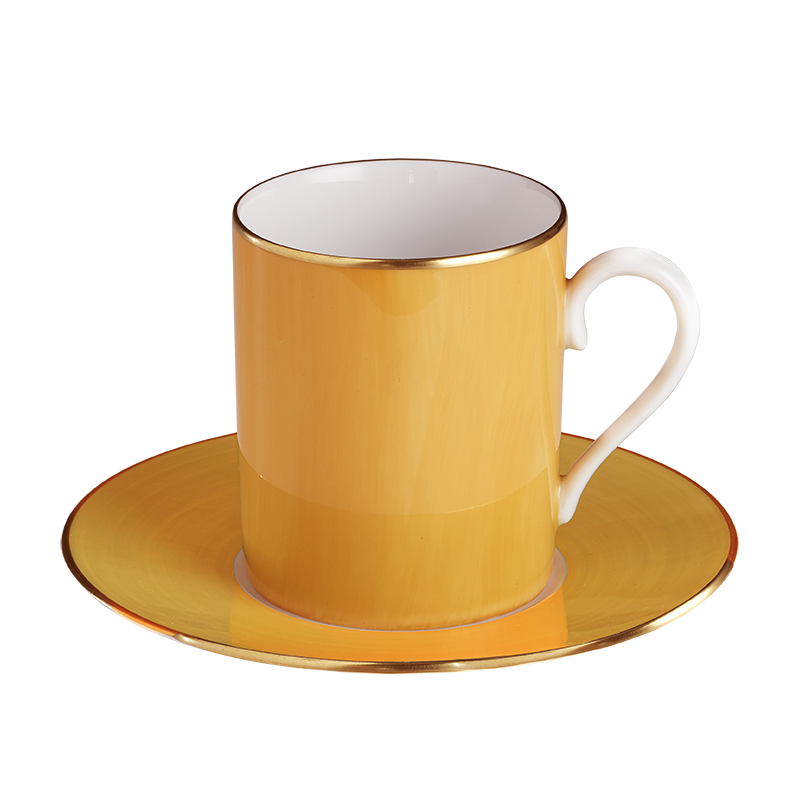 Lexington Jaune Sud Tall Cup & Saucer
