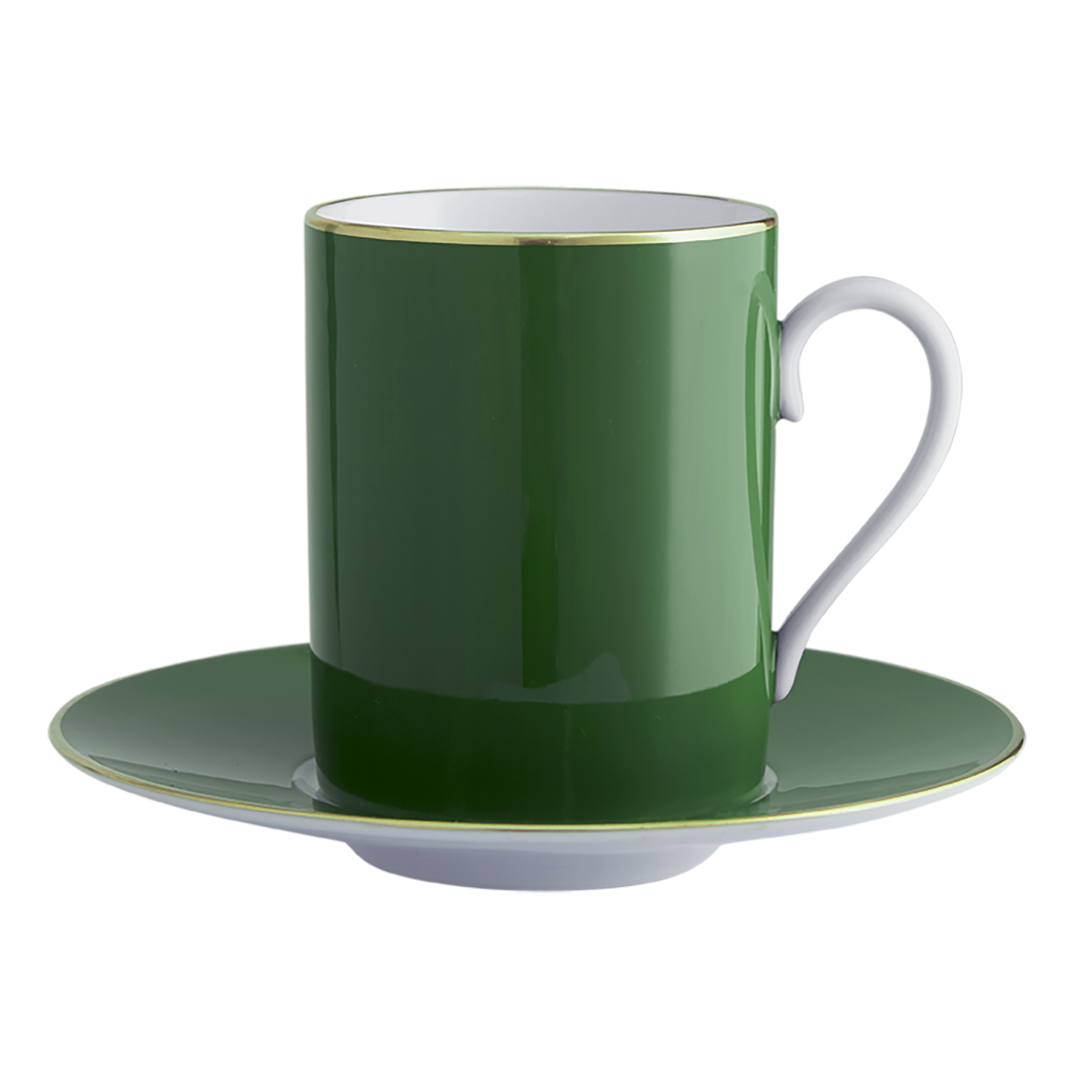 Lexington Pine Tall Cup & Saucer