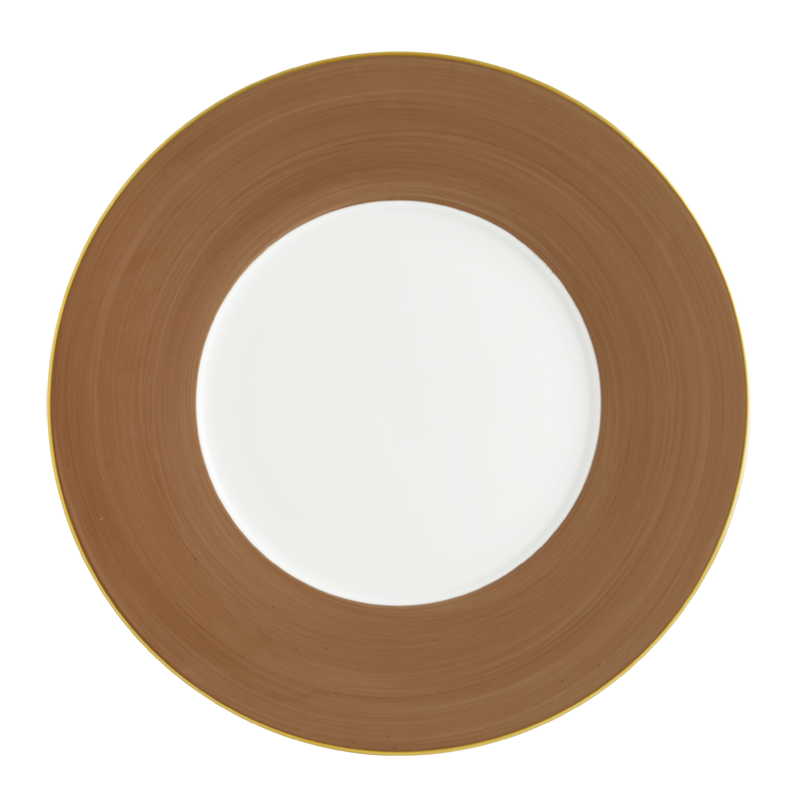 Lexington Taupe Charger Plate