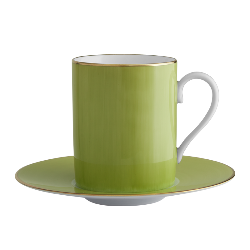 Lexington Moss Tall Cup & Saucer