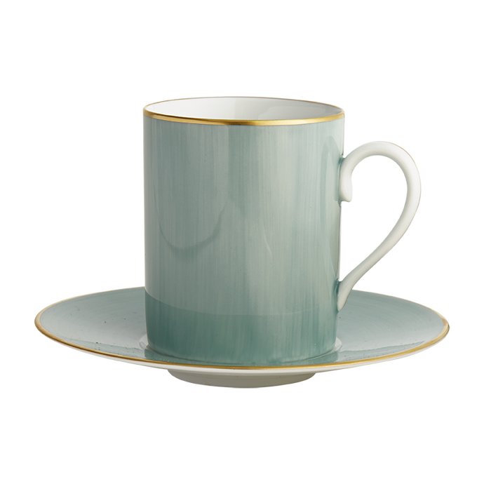 Lexington Turquoise Tall Cup & Saucer