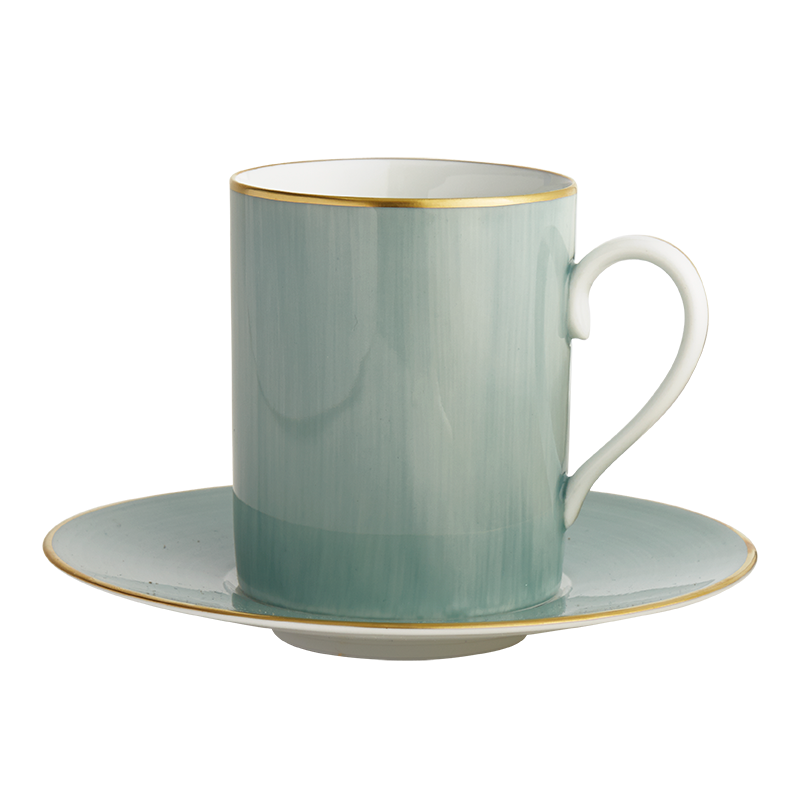 Lexington Celadon Tall Cup & Saucer
