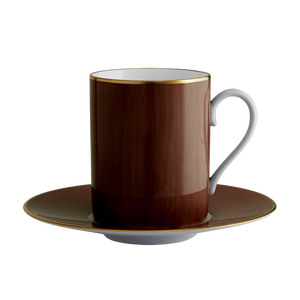 Lexington Chocolate Tall Cup & Saucer