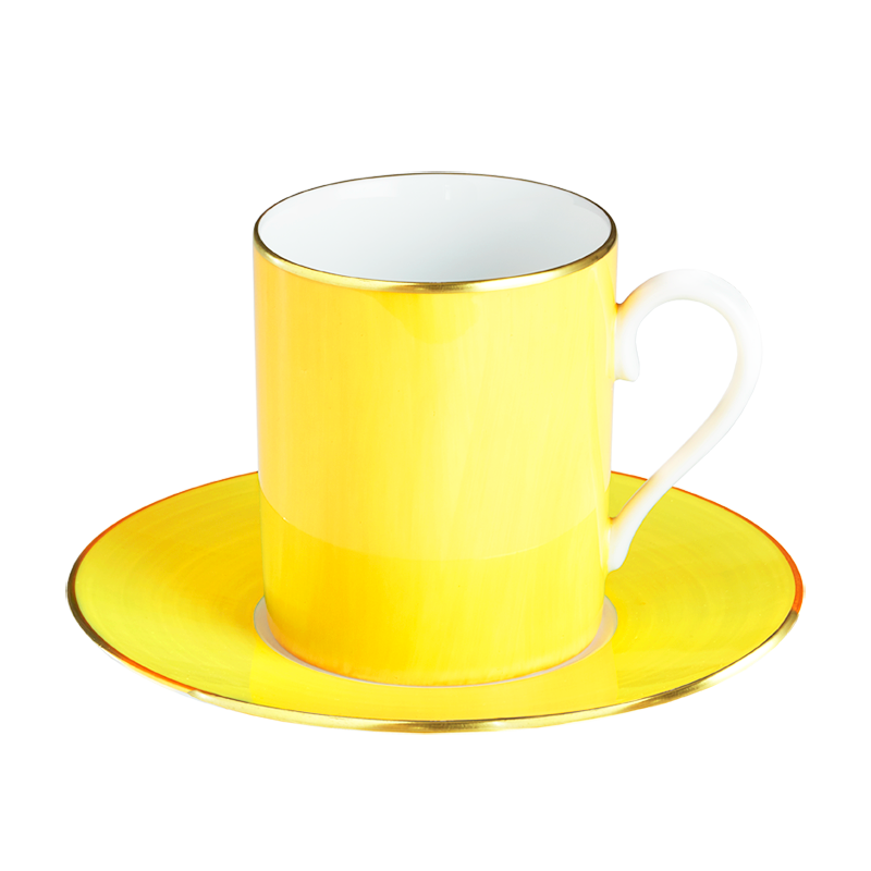 Lexington Citron Tall Cup & Saucer