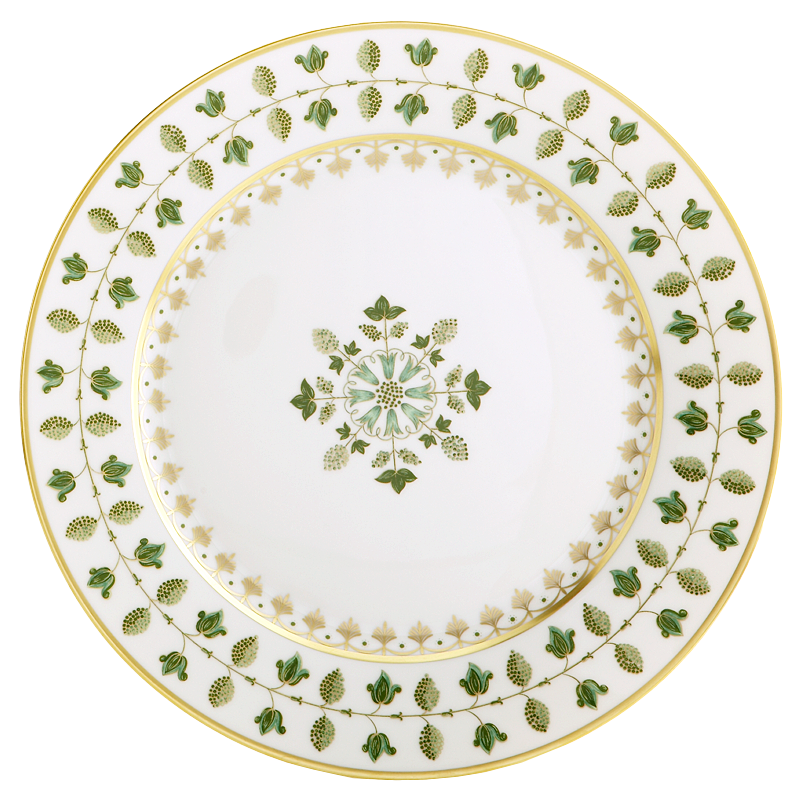 Matignon Green Charger Plate
