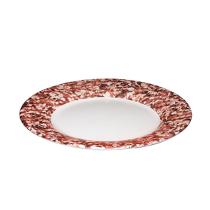 Macchia su Macchia Red Mix Plate, Set of 6